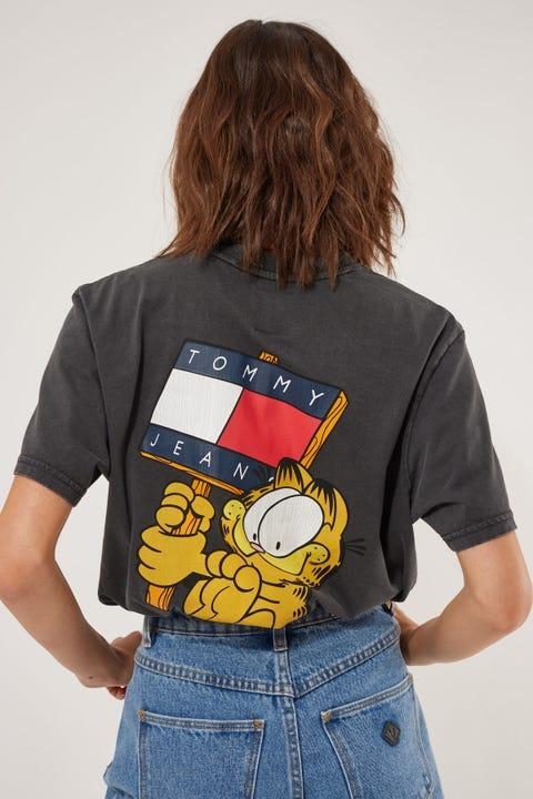Tommy Jeans TJU x Garfield2 Tee Blackout