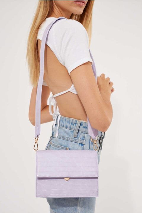 Token Kaia Handbag Light Purple