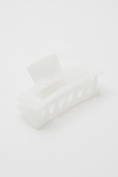Token Party Time Hair Claw White Resin
