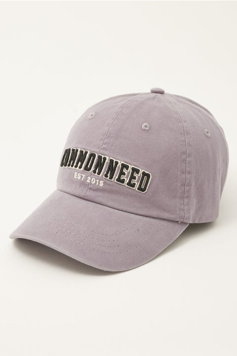 Common Need Collegiate Dad Cap Washed Purple