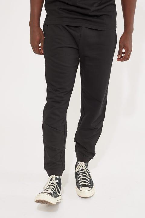 Lacoste Tape Fleece Track Pant Black