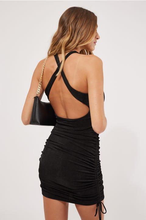 BY.DYLN Charlotte Dress Black