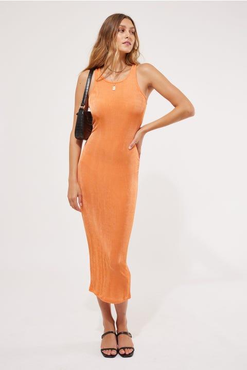 Lioness Everlast Dress Orange