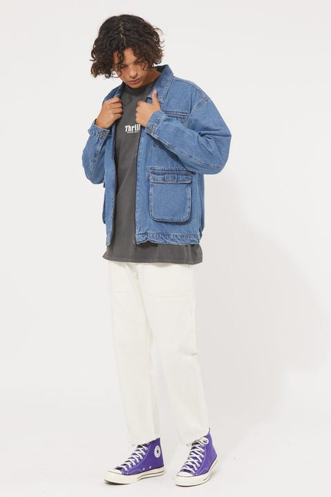 Common Need 88 Denim Worker Jacket Classic Blue