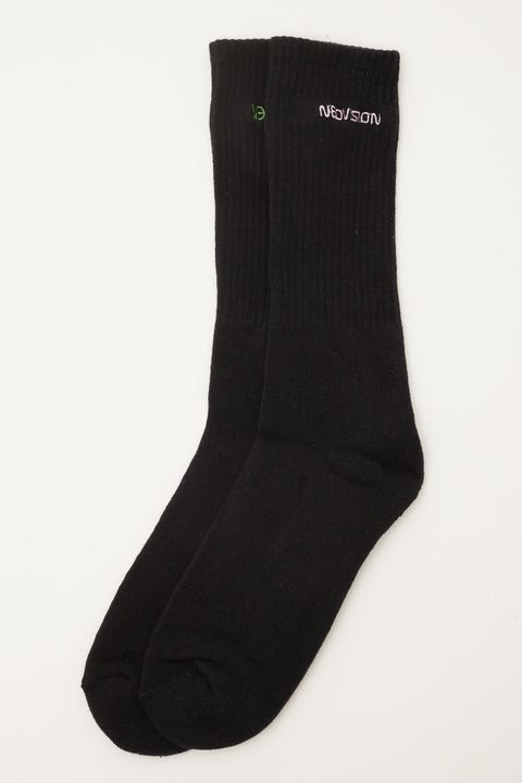 Neovision Glyph Sock Black