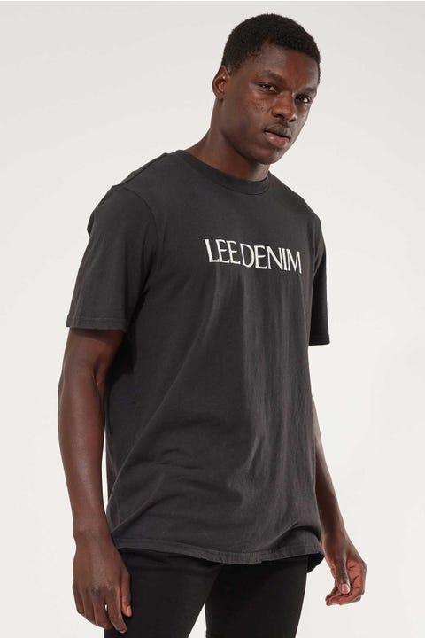 Lee Lee Denim Tee Washed Black