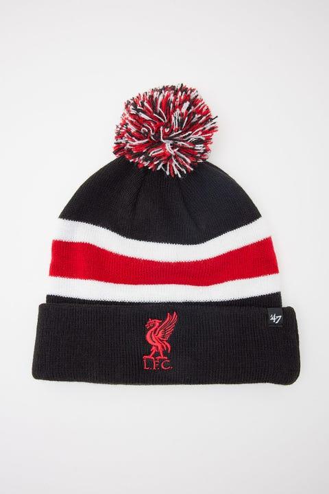 47 Brand Breakaway Pom Beanie Liverpool FC Black/Red