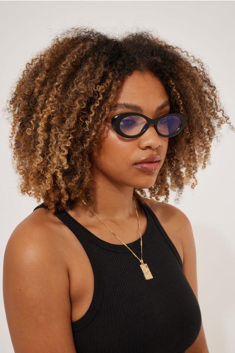 Reality Eyewear High Society Black Blue Light
