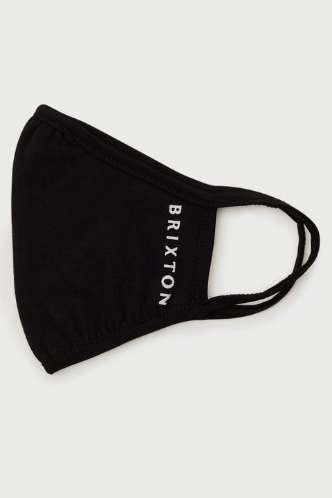 Brixton Tee Mask Alpha Black