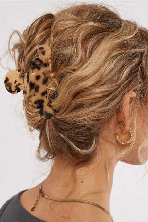 Token Clouded Hair Claw Caramel Tort