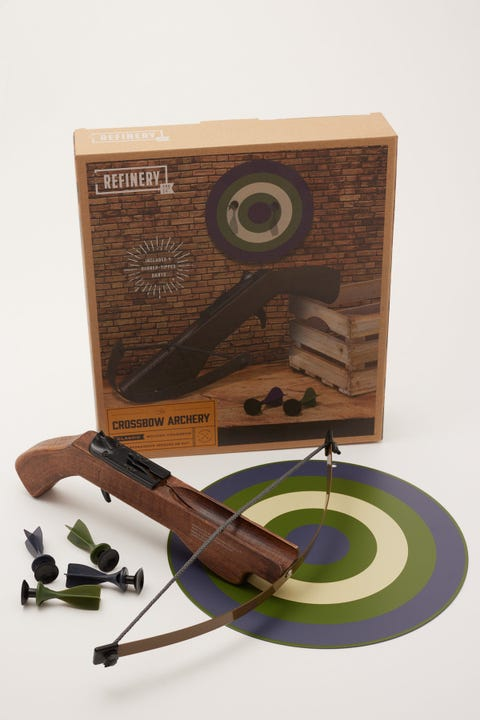 Refinery And Co Crossbow With Target