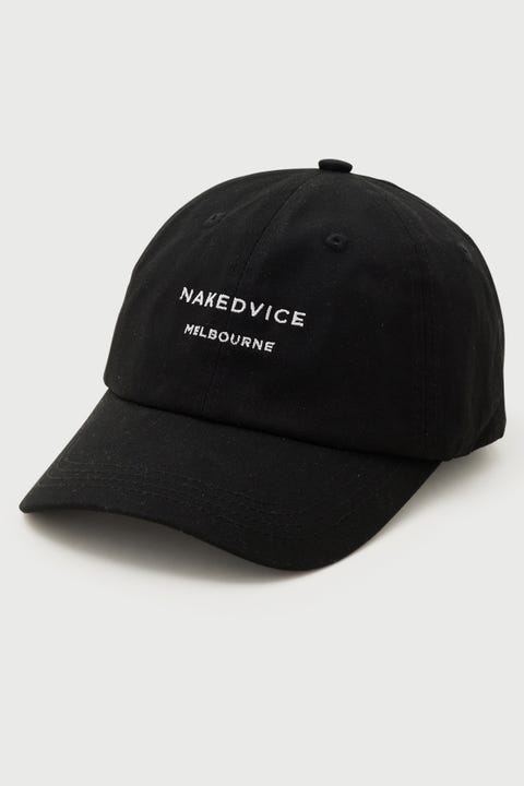 Nakedvice The Nakedvice Cap Black