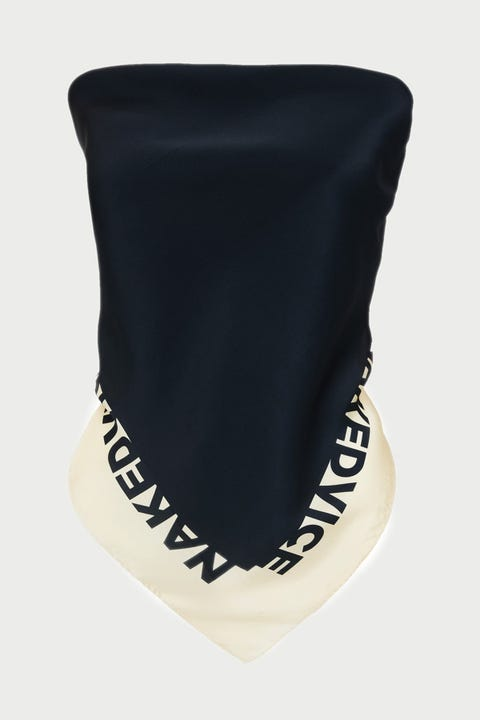 Nakedvice The NV Scarf Black/Ivory