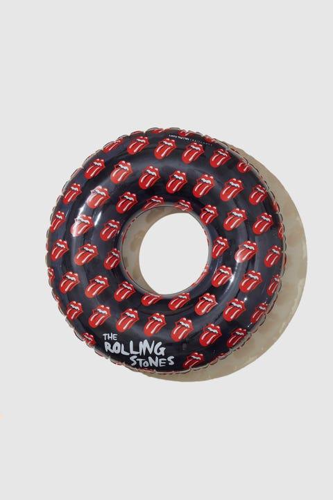Sunnylife x Rolling Stones Lips Pool Ring Black