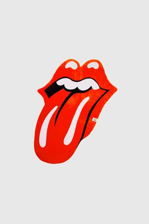 Sunnylife x Rolling Stones Lips Shapped Towel