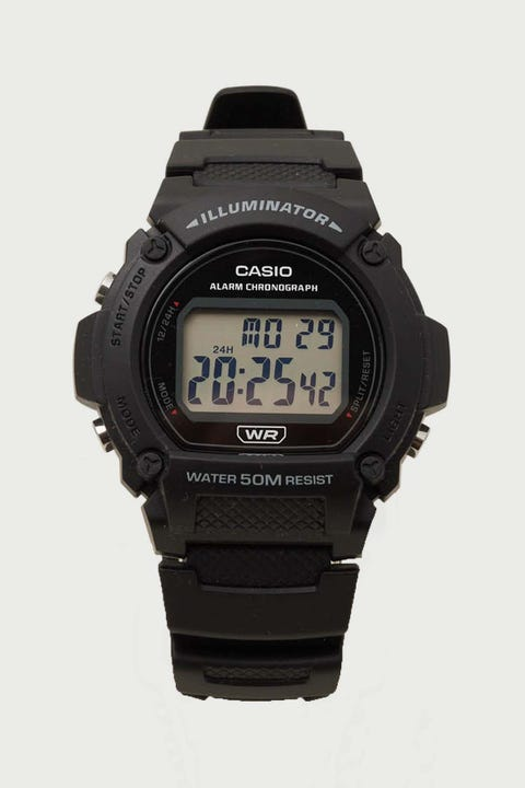Casio W-219H Black