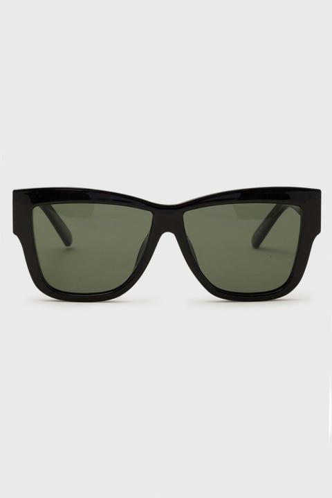 Le Specs Total Eclipse Polarised Black/Khaki Mono