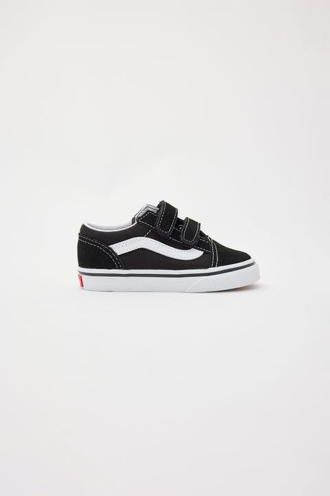 Vans Old Skool V Toddler Black/White