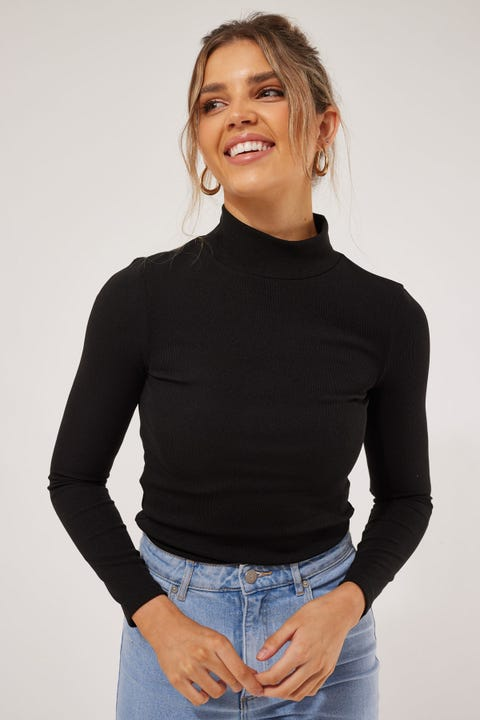 Perfect Stranger Kyla Top Black