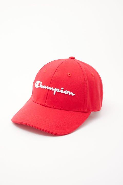 Champion Dad Cap Team Red Scarlet