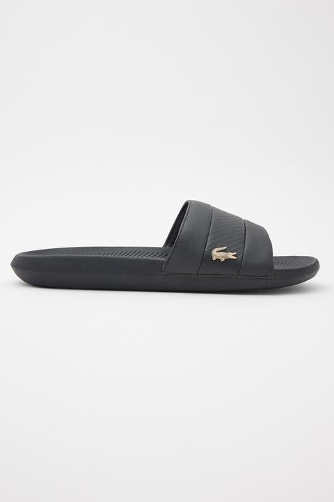 Lacoste Croco Slide Black/Black
