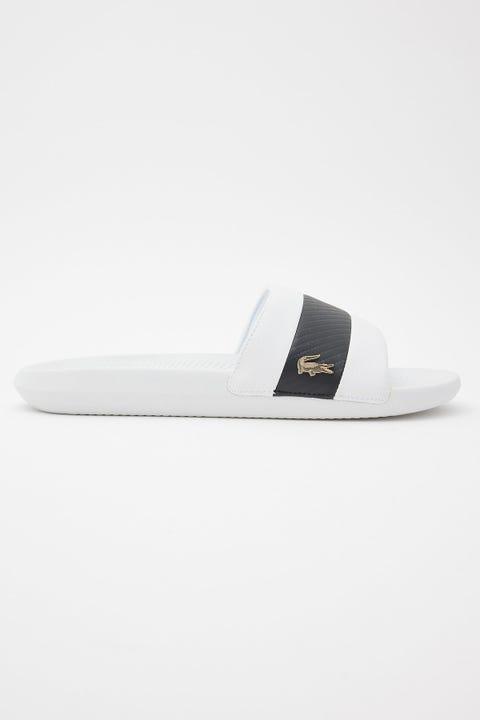 Lacoste Croco Slide White/Black