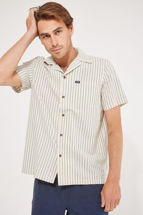 Lee Holiday Shirt Sand Stripe
