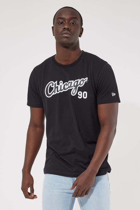 New Era Chicago White Sox Team Lockup Tee Black