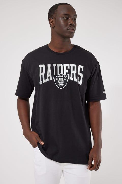 New Era Las Vegas Raiders Half Logo Oversize Tee Black