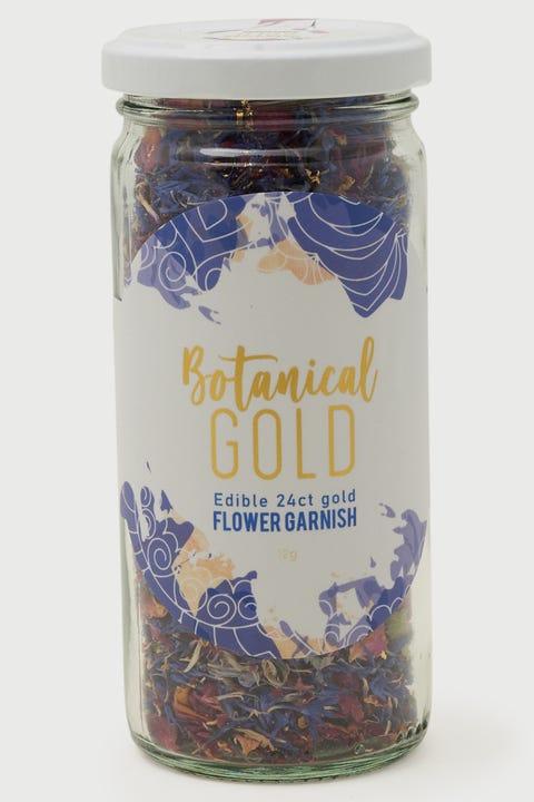 Mr Consistent Edible Floral Botanicals Gold Leaf & Indigo