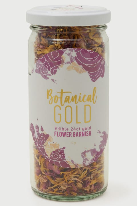 Mr Consistent Edible Floral Botanicals Gold Leaf & Blush