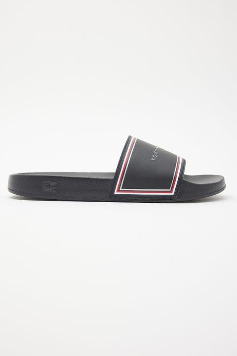Tommy Jeans TH Essentials Pool Slide Black