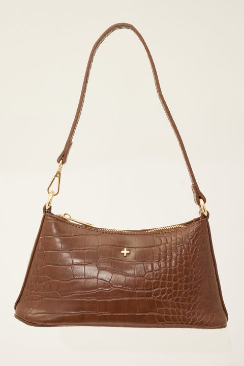 Peta And Jain Danni Choc Croc/Gold