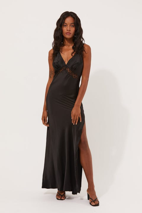 Lioness Dakota Maxi Dress Black