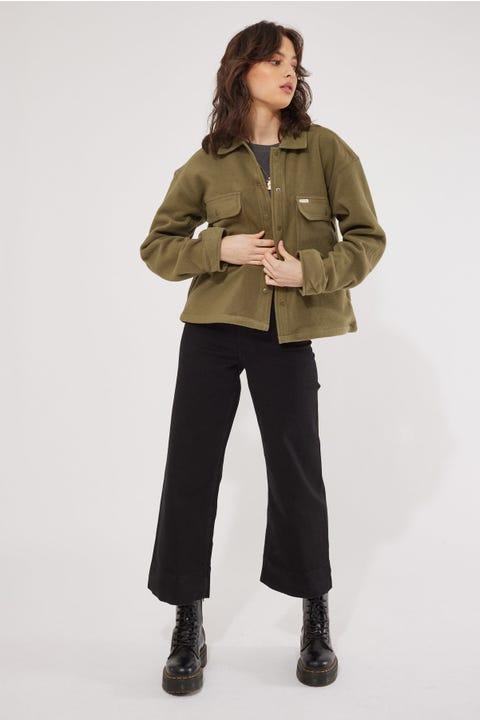 Brixton Bowery Fleece Military