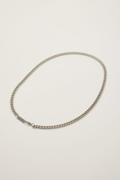 Icon Brand Stainless Steel 6mm Curb Chain Necklace