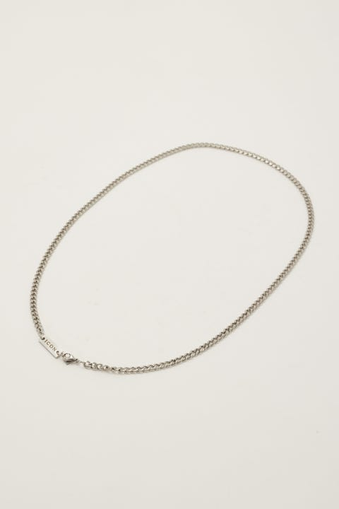 Icon Brand Stainless Steel 4mm Curb Chain Necklace