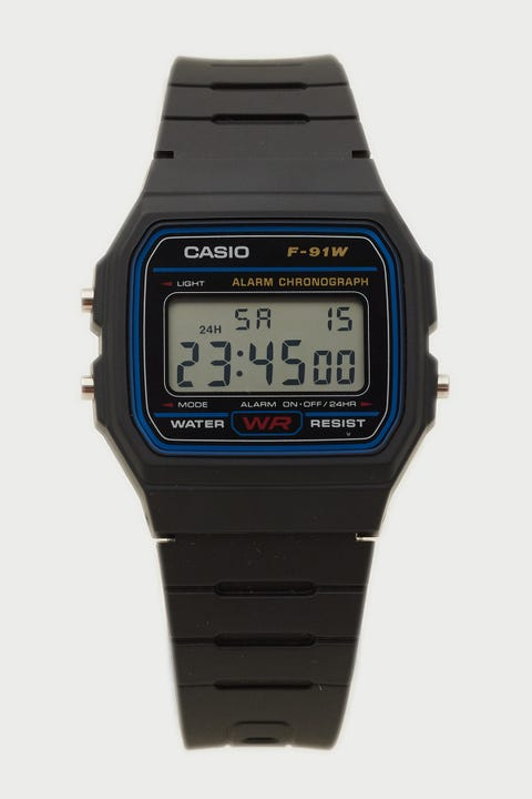 Casio F91W-1 Black