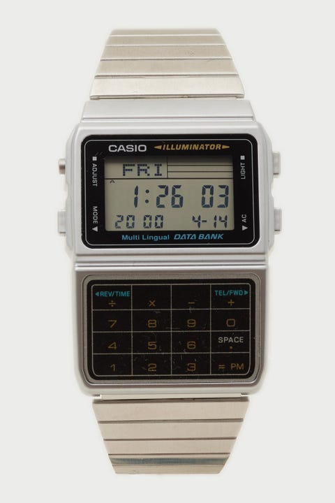 Casio DBC611-1D Databank Calculator Silver