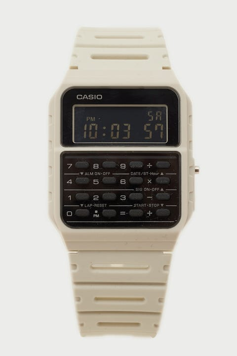 Casio CA53WF-8B Vintage Calculator Stone