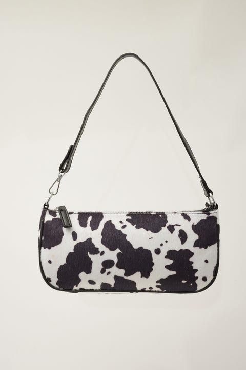 Token 90's Shoulder Bag Cow Print