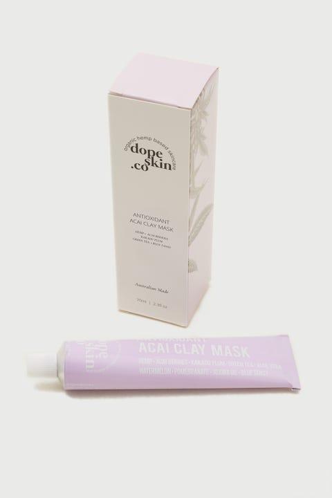 Dope Skin Co Antioxidant Acai Clay Mask