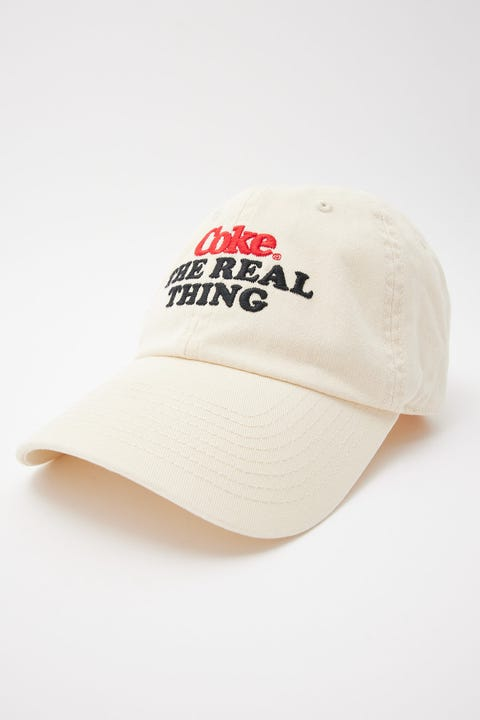 American Needle Coca-Cola The Real Thing Ball Park Off White