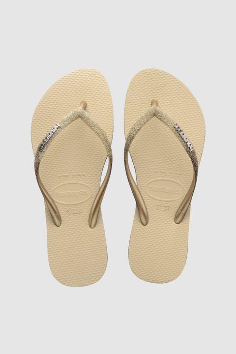Havaianas Slim Sparkle Sand Grey