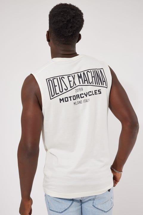 Deus Ex Machina Leader Muscle White
