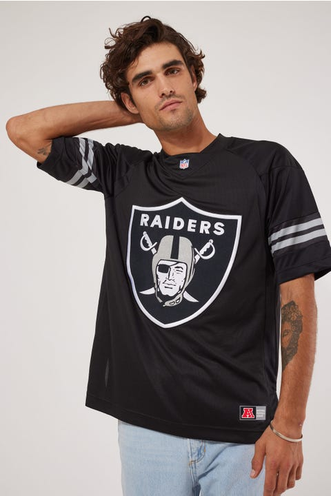 Majestic Athletic NFL Replica Raiders Jersey Black