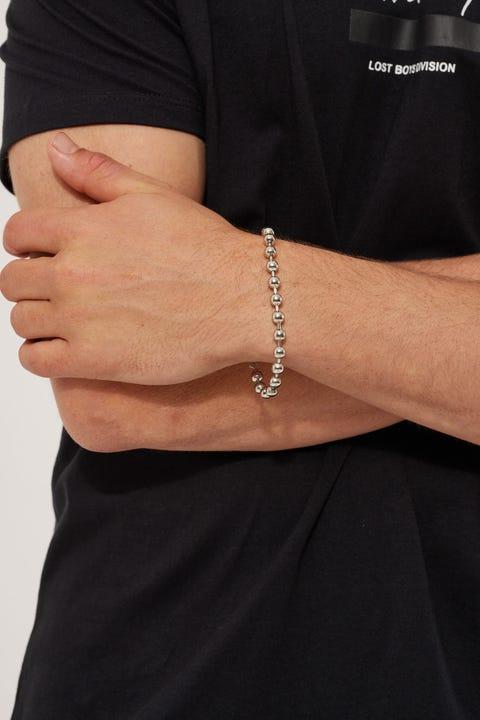 Neovision Ball Bearing Bracelet Silver