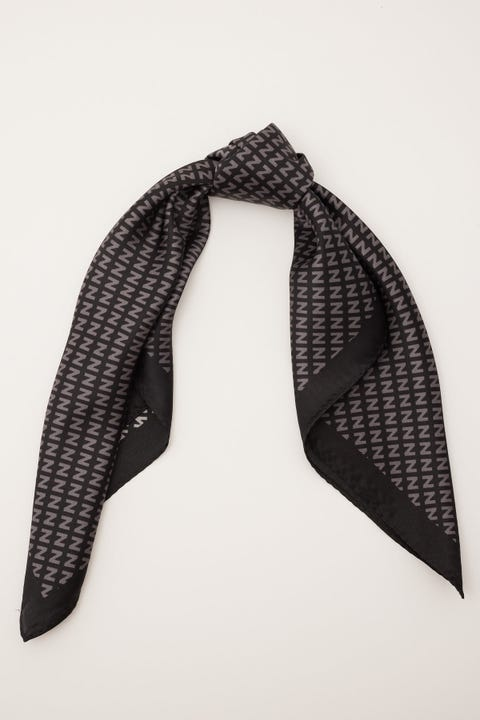 Nakedvice NV Silk Scarf Grey