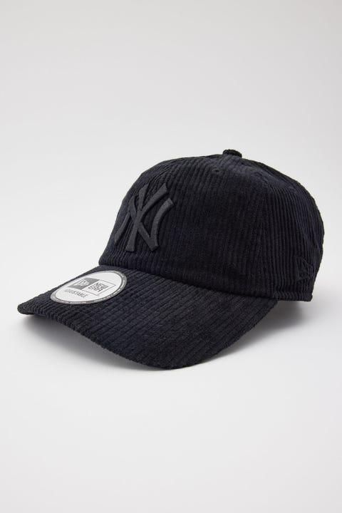 New Era Casual Classic NY Yankees Black Cord