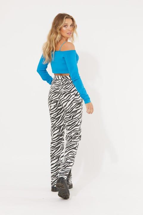 Lioness Alabama Jeans Zebra